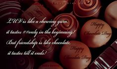 Best Chocolate Day Messages for your Love