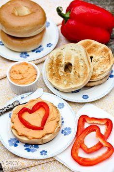 Western Omelet Breakfast Sandwich with Ham, Peppers & Salsa | Recipe ...