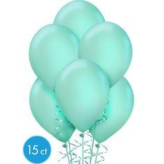 Robin's Egg Blue Balloons 15ct