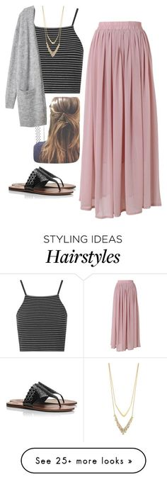 """My outfit tomorrow"" by robramey17 on Polyvore featuring Topshop, Chicwish, Tory Burch and Alexis Bittar"