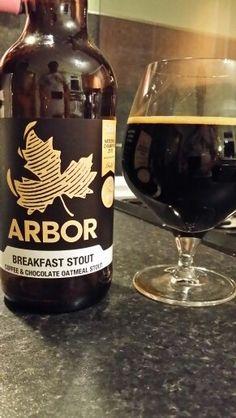 Arbor Ales Breakfast Stout Coffee Chocolate Oatmeal Stout #craftbeer #Beer #realale #ale #beer #beerporn #beerlove #Beergasm #ArborAles #ArborAlesBreakfastStout