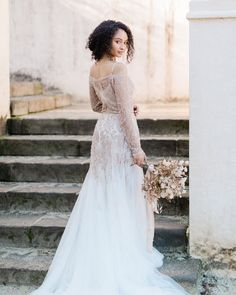 Blush Pink Wedding Dress, Sheer Wedding Dress, Pregnant Wedding Dress, Tulle Wedding, Gold Wedding, Designer Wedding Dresses, Bridal Dresses, Wedding Pantsuit, Bridal Tops