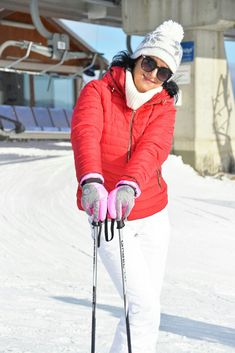 Winter Sun Glamur Ski Mountains