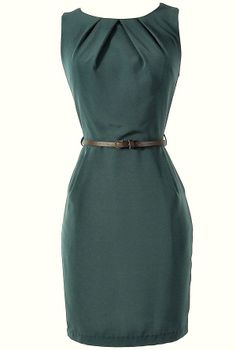 Simple sheath dress