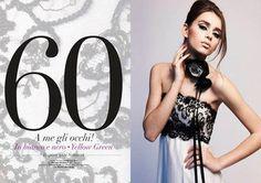 MAKE UP STEP BY STEP Anni '60, abito MARINA MANSANTA, modello Eunice