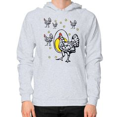 Roseanne Chicken Hoodie (on man) Shirt