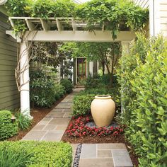 Entry Courtyard - Classic Courtyards - Southern Living