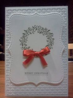 1st Christmas Card for 2012 by Sarah B - Cards and Paper Crafts at Splitcoaststampers