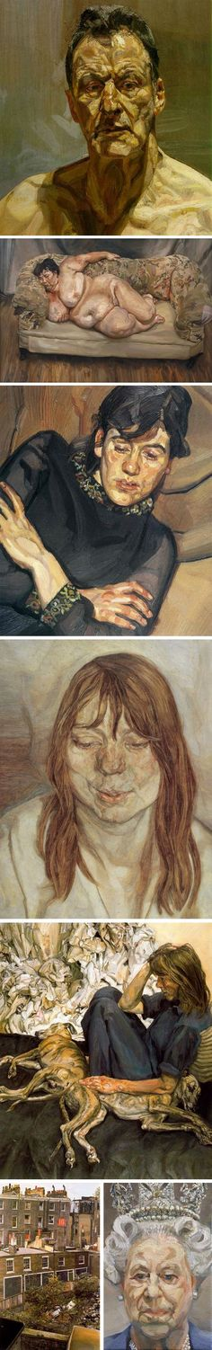 The brilliant Lucian Freud Lucian Freud, Great Works Of Art, Expressive Art, Jewish Art, Art For Art Sake, Figure Painting, Artist Art, Figurative Art, Painting Inspiration