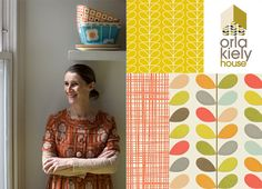 Charlotte Minty Interior Design: Orla Kiely Wallpapers for Harlequin