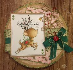 Pour Some Sugar On Me - Wild Rose Studio Reindeer Flying