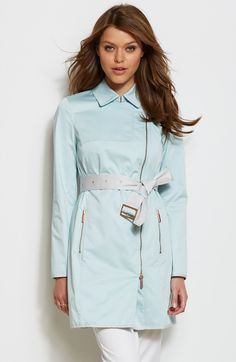 Piped Trench Coat - Jackets & Blazers - Womens - Armani Exchange