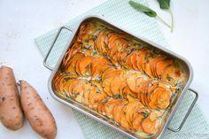 Ottolenghi zoete aardappel-gratin