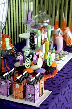 Halloween Glam Haunted House Party via Kara's Party Ideas - www.KarasPartyIdeas.com
