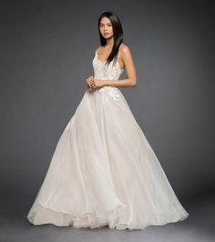 Lazaro Style 3860 Vanessa Bridal Gown Front