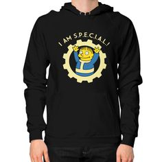 I am Special Hoodie (on man)  #nba #instagood #comic #d4stor3pty #nerd #anime #comiccon #nfl