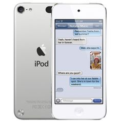 Apple iPod touch 5th Generation 64GB - Silver My latest baby