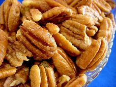 """From a reviewer: """"For those making odd-sized batches, you need approx. 1 TBSP butter per 1 cup of pecan halves. I tend to like a lighter touch on salt, so I added 1/8 tsp. per cup of nuts (or approx. 1/2 tsp. per pound of pecans)."""""""