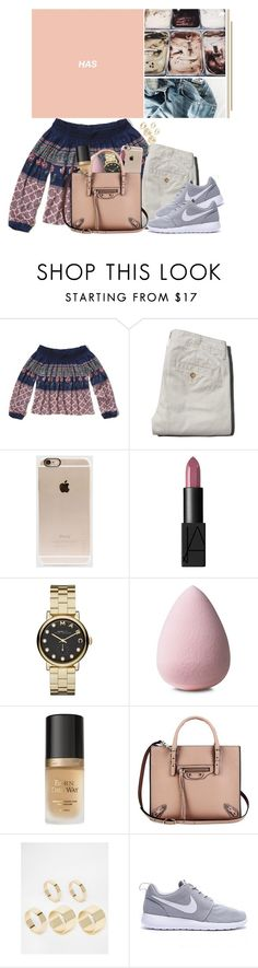 """JL©"" by jonaticaajesy ❤ liked on Polyvore featuring Hollister Co., Abercrombie & Fitch, Incase, NARS Cosmetics, Marc by Marc Jacobs, Too Faced Cosmetics, Balenciaga and Pieces"