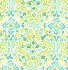 Dena Designs McKenzie Fabric Bohemia in Aqua
