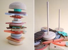 slow food wooden toys from studio fludd