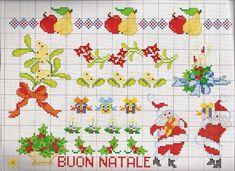 Ru / фото - i motivi piu belli a punto croce Cross Stitch Charts, Cross Stitch Patterns, Minnie Baby, Christmas Cross, Mistletoe, Kids Rugs, Blog, Case, Winter