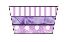Fazendo a Propria Festa: Tema Cinderela em lilas e branco