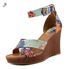 618a3b7aa88 Style   Co Raynaa Women US 9 Multi Color Wedge Sandal - Style co pumps for