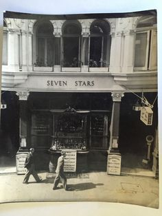Seven Stars, owned by Clifford Leigh-Jones from the late 1930's to 1959.