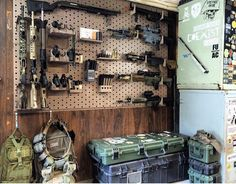 Gun Wall. Check out our latest Gun Cases here- http://www.ogbroker.com/home.php?cat=4990