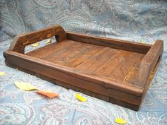 Wooden Decorative Trays Beauteous Decorative Tray Barn Wood Serving Tray Farmhouse Decor Spring Decorating Inspiration