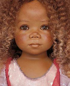 """Annette Himstedt doll named """"Natiti"""". Annette is my favourite doll artist."""