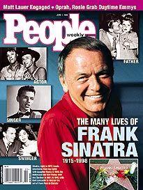 People Weekly Magazine June 1 1998 Many Lives Of Frank Sinatra - Advintage Plus Divas, Matt Lauer, Music Happy, Nancy Sinatra, Mindy Kaling, Richard Madden, Ava Gardner, Dean Martin, Mariska Hargitay