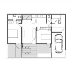 Gray House / SUB Studio for Visionary Design / Indonesia 70sqm $15,000