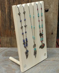 Multi Necklace Display 14 x 8 Jewelry Display by JimHarmonDesigns