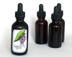 Natural Flu and Cold Home Remedy - DIY Elderberry Syrup Recipe