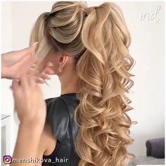 Elegant Hairstyles, Formal Hairstyles, Cute Hairstyles, Braided Hairstyles, Wedding Hairstyles, Hair Hacks, Hair Tips, Hair Ideas, Chignon Hair