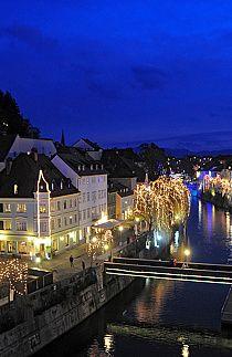 Taste of december spirit in Ljubljana, Slovenia