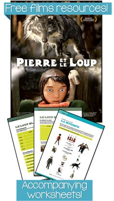 *FREE* films resources, including clips, trailers, worksheets & more! Tons of films to choose from | Les films du Préau