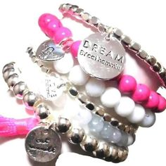 かわいいピンクブレスレットセット★ セレクトショップレトワールボーテ  Facebookページで毎日商品更新中です  https://www.facebook.com/LEtoileBeaute  楽天 http://item.rakuten.co.jp/letoilebeaute/b11-brazilia-hot-pink-bracelet-s/  #レトワールボーテ #fashion #楽天 #コーデ #rakuten #ブレスレット #ブレスレットセット #スマホケース #可愛いブレスレット #ペア #クリスマスプレゼント #ピンクブレスレット #bracelet