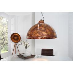 Moderne hanglamp Studio koper used look - 35854