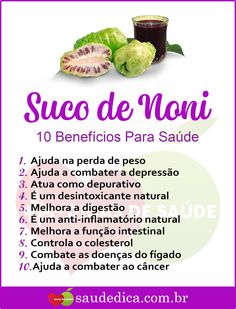 Os 10 Benefícios do Suco de Noni Para Saúde! Beauty Treats, Diet And Nutrition, Fett, Superfoods, Home Remedies, Beef Recipes, Healthy Life, Medicine, Food And Drink