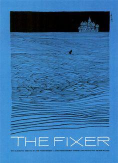 The Fixer, 1968, John Frankenheimer, poster Saul Bass