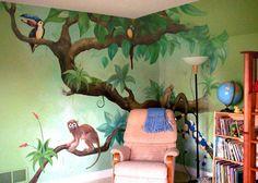 Reading Corner jungle tree