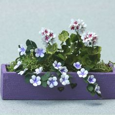 Build A Windowbox Or Storage Box For A Dollhouse