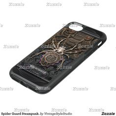 Spider Guard Steampunk. OtterBox Symmetry iPhone 7 Case★ #Steampunk #Samsung #iphone #Cases #S6 #S7 #ipad #samsunggalaxys #victorian #phonecases #accessories #gosstudio