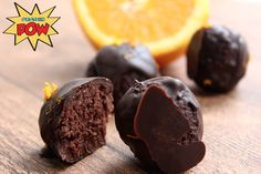 Connellian Dark Chocolate, Orange, & Almond Protein Truffles - Protein Pow