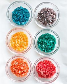 HOW TO MAKE RAINBOW CRYSTALS