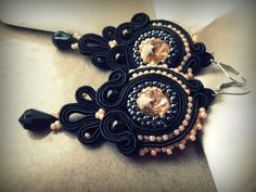 Soutache earrings Soutache Earrings, Jewerly, Handmade, Craft, Jewlery, Hand Made, Schmuck, Jewelry, Jewels