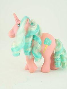Vintage 1980's Toy, My Little Pony, Sugar Sweet
